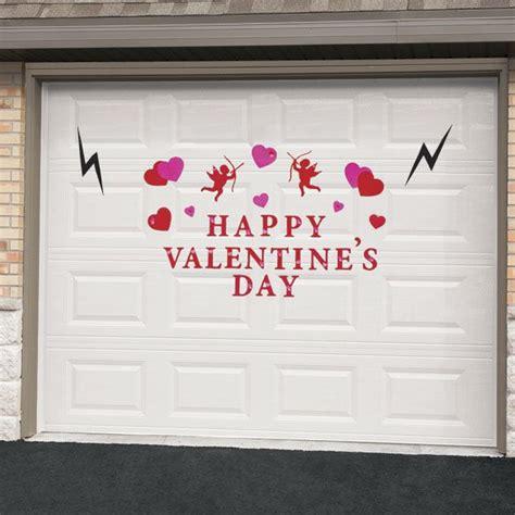 valentines day garage door magnet set zoom zoom