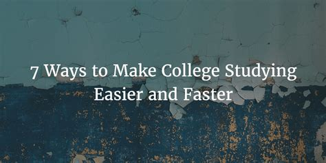 7 Supplies That Make Studying Easier by 7 Ways To Make College Studying Easier And Faster