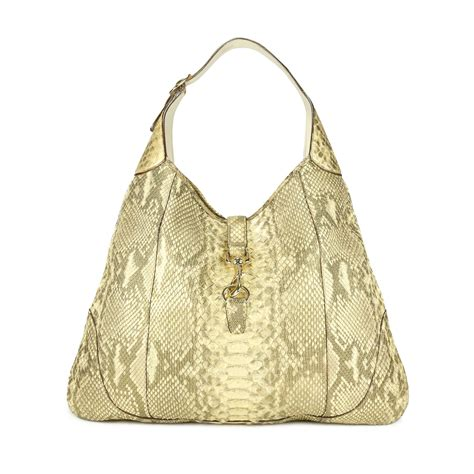 Gucci Purple Suede Bouvier Hobo by Second Gucci Python Jackie O Bouvier Hobo Shoulder