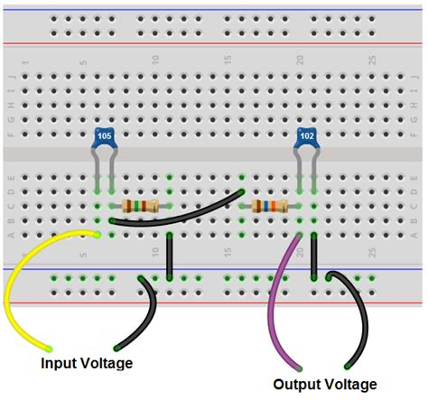 capacitor and resistor filter how to build a passive bandpass filter circuit