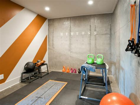 exercise rooms in basements home designs that will make you wanna sweat