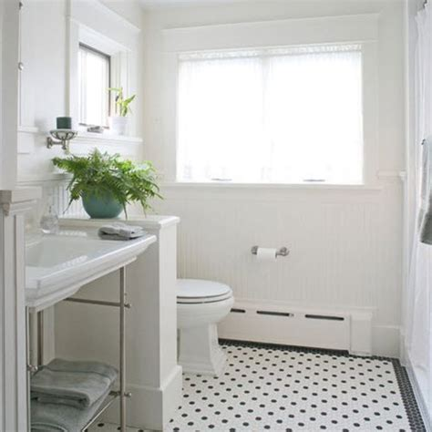 black and white tile floor bathroom 27 black and white octagon bathroom tile ideas and pictures