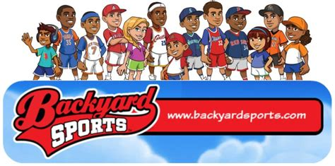 backyard sports basketball backyard sports baseball basketball summer fun sizzlingsummer review