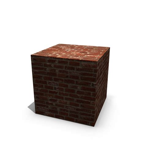 How To Decorate A Room Brick Cube Design And Decorate Your Room In 3d