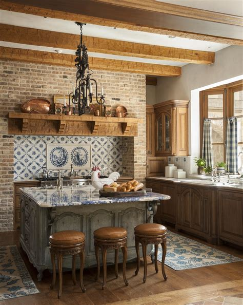 Country French Kitchens Traditional Home | country french kitchens traditional home