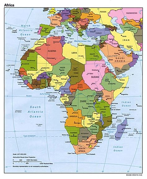 africa map by country countries map