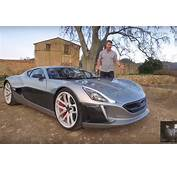 Autoblog Test Drives $12M Rimac Concept One In The