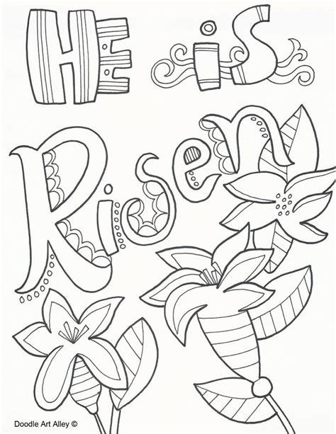 easy easter coloring pages religious easter coloring pages and printables at religious doodles