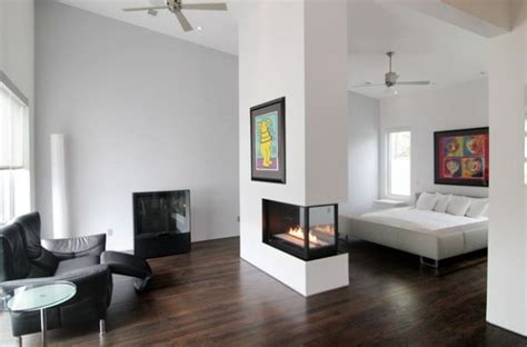 Two Bedroom Home 20 gorgeous two sided fireplaces for your spacious homes