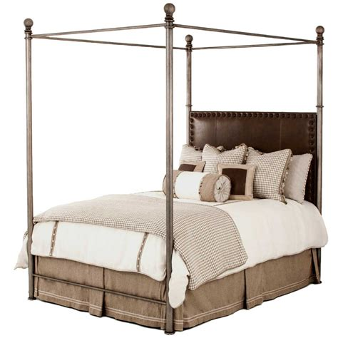 iron canopy bed pictured here is the luxurious davant canopy bed with