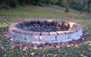 Brick Firepit Brick Pit Casual Cottage