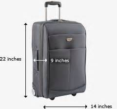 airline carry on size