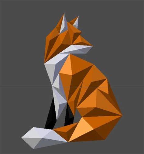 Fox Papercraft - fox papercraftsquare free papercraft page 2