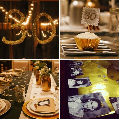 colour themes for 30th birthday 20 ideas for your 30th birthday party via brit co
