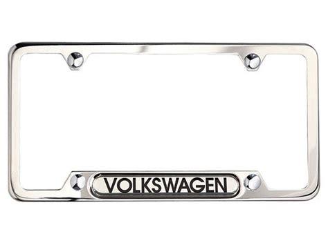 2014 volkswagen tiguan license plate frame volkswagen