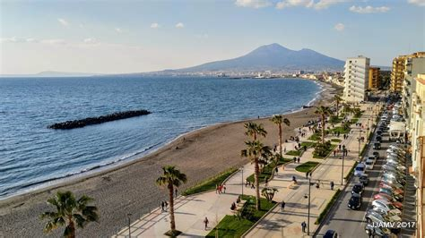 castellammare di stabia the newly constructed promenade at castellammare di stabia