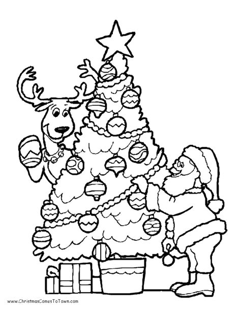 santa s view coloring book for everyone books tree coloring pages getcoloringpages
