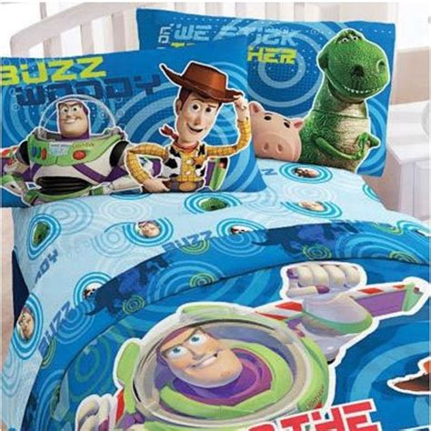 toy story twin comforter disney toy story buzz circles 4pc twin single bedding set