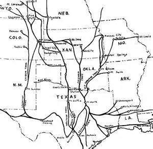 chisholm trail map index of maps