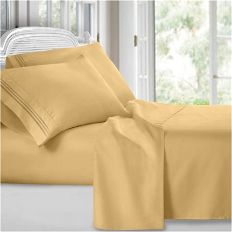 split king bed sheets clara clark 1800 series 5 pc bed sheet set split king size