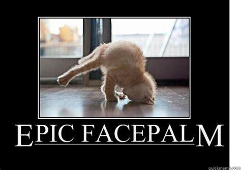 Facepalm Meme - epic facepalm lolcat