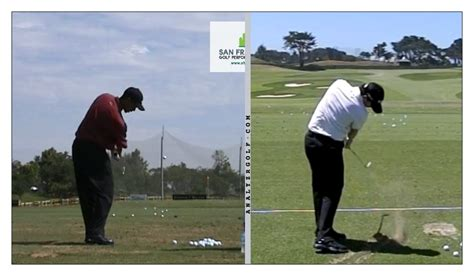 rory mcilroy iron swing sequence tiger woods old swing vs rory mcilroy s swing