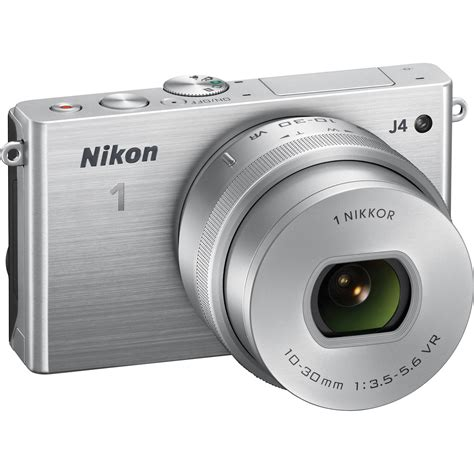 nikon 1 j4 mirrorless digital with 10 30mm lens 27685 b h