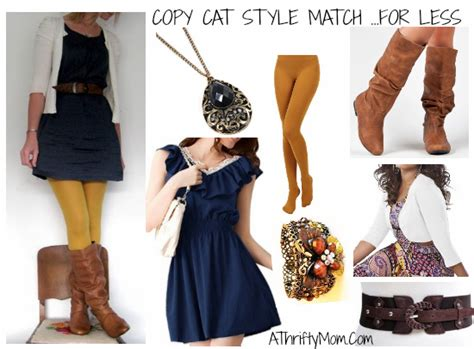 Sty Cat Papercraft - stye match blue dress jpg a thrifty recipes