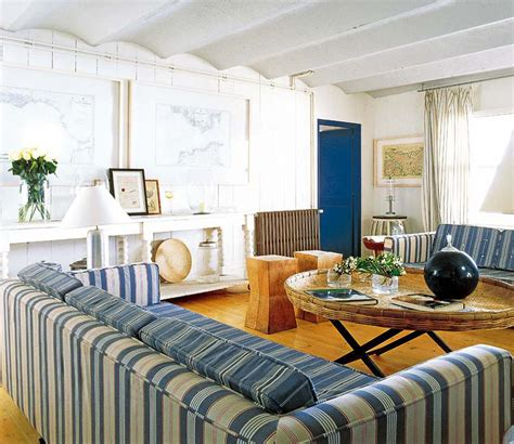 blue and white beach house interiors mediterranean beach house on the costa brava idesignarch interior design