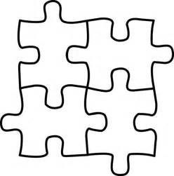 puzzle piece outline free download clip art free clip