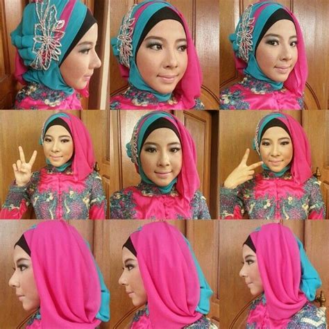 tutorial hijab paris untuk acara wisuda tutorial hijab wisuda terbaru 2017 paling mudah dan simpel