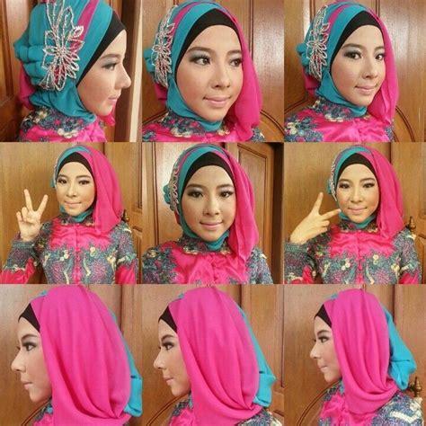 tutorial hijab untuk acara pengantin aneka model hijab modern untuk acara wisuda ayudha wedding