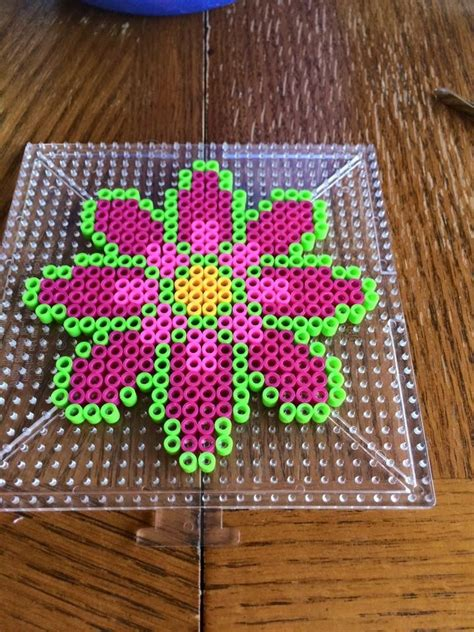 perler bead flower designs 38 best images about perler bead flowers on