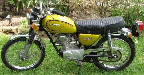 honda cl100 motorcycle 1970 1973 complete wiring diagram