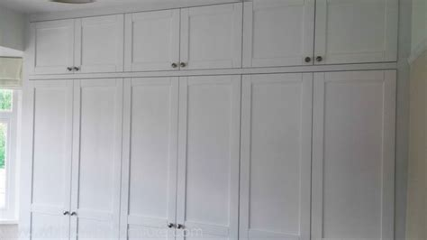 Shaker Fitted Wardrobes by Bespoke Fitted Bedroom Wardrobes And Design From White
