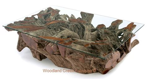 Handcrafted Root - tree root coffee table rascalartsnyc