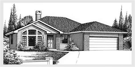 three bedroom ranch house plans single level house plans for simple living homes