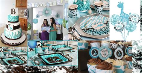 Blue Safari Baby Shower by Blue Safari Baby Shower Shower