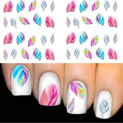 Manicure Stickers by Nail Decorations Water Transfer Nail Stickers Decal