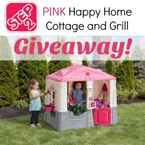 The Cottage Grill by Step2 Happy Home Cottage And Grill Giveaway 180 Value