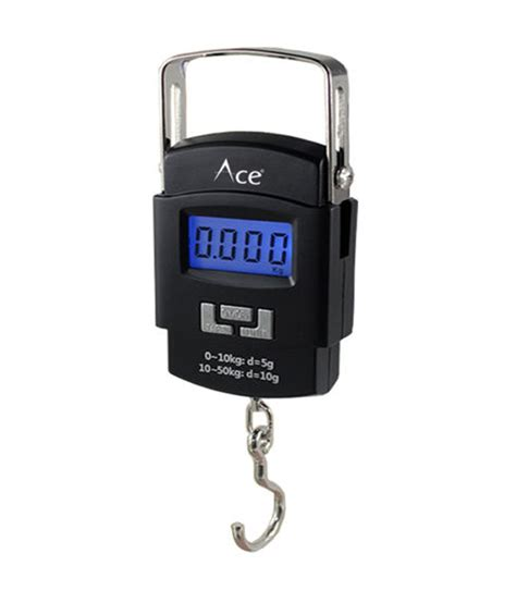 Luggage Handheld Electronic Scales ace electronic luggage weighing scale 50kg 10g portable handheld electronic digital lcd buy