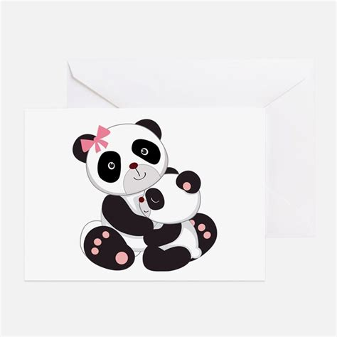 Baby Panda Greeting Cards Card Ideas Sayings Designs Templates Panda Birthday Card Template