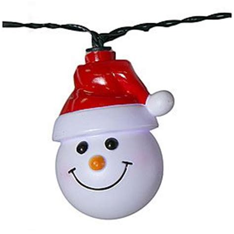Snowman String Lights Christmas Wikii Snowman String Lights