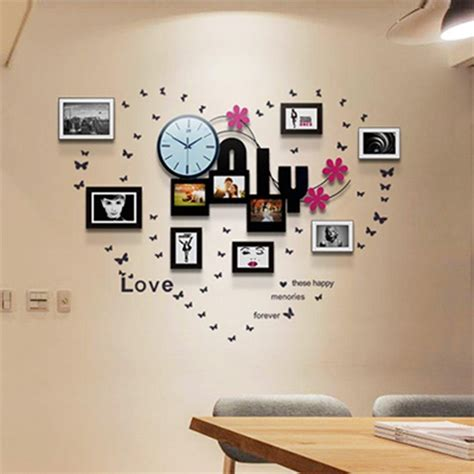 how to decorate wall at home using oversized wall clocks to decorate your home in wall