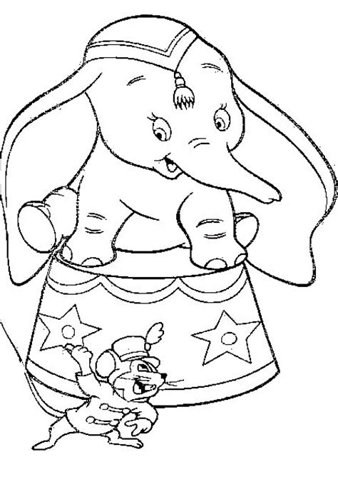Dumbo Coloring Pages Coloringpages1001 Com Dumbo Coloring Pages