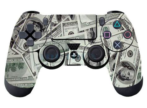 Playstation 100 Dollar Gift Card - 100 dollar money 1pc for ps4 controller playstation 4 skin sticker cover part ebay