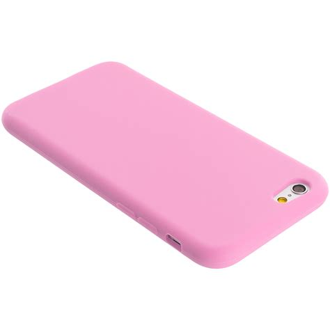 Iphone 7 Plus Softcase Electro Lite Silicone Armor Bumper Casing light pink silicone skin cover for apple iphone 6 6s