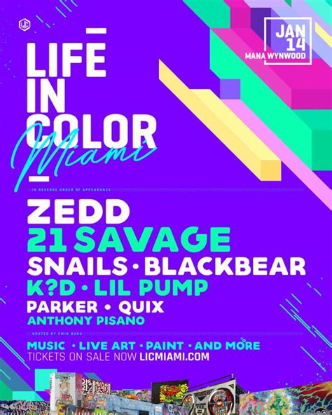 in color miami in color miami assembles powerhouse lineup for 2018 w