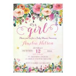 Sle Baby Shower Invitations Templates by Baby Shower Invitations Announcements Zazzle