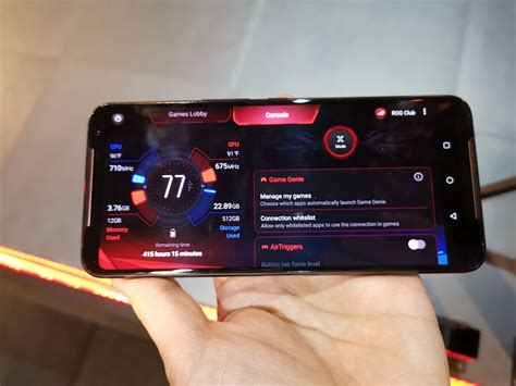 asus rog phone  officially unveiled  mah battery